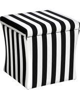 fall sale skyline furniture square canopy stripe black and white