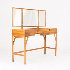 walnut vanity table by carl axel acking nordlings antik