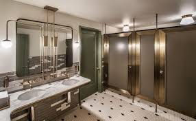 restaurant bathroom design 2 chicago restaurants named america s best restroom finalists