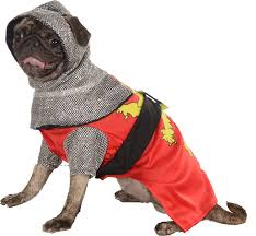 dog clothes for halloween amazon com rubie u0027s pet costume small knight sir barks a lot