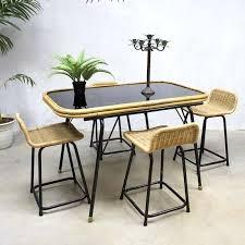 4 x stool by dirk van sliedregt for rohé noordwolde 1960s 55388