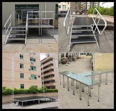 custom wedding stage portable stairs with 2 3 4 5 steps buy