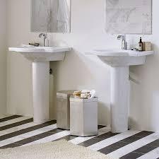 21 Inch Pedestal Sink Lowell 26 Inch Pedestal Sink Single Hole Dxv