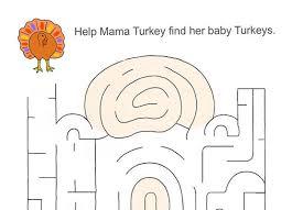 thanksgiving turkey maze worksheet national kindergarten readiness