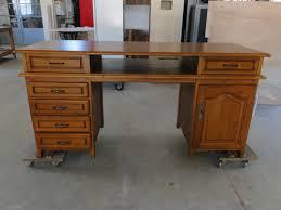 bureau en bois ancien bureau en bois style ancien sur mesure ebenisterie brettes