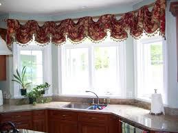 Beautiful Window Curtain Designs Kitchen Cool Kitchen Bay Windows Curtains Beautiful Window Ideas