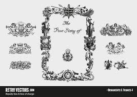 free vector page ornaments vintage vectors royalty free free