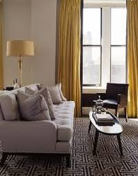 Grey Curtains On Grey Walls Decor 20 Chic Interior Designs With Yellow Curtains Yellow Curtains