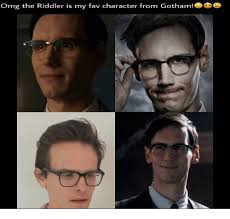 Riddler Meme - omg the riddler is my fav character from gotham meme on me me