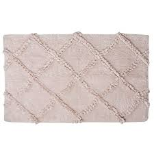 simply shabby chic criss cross bath rug pink furniture