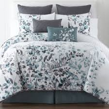 Jcpenney Comforters And Bedding Liz Claiborne Silhouette Floral 4 Pc Comforter Set U0026 Accessories