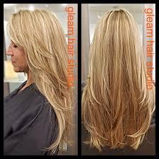 Light Blonde Balayage Light Blonde Balayage Hightlights On A Dark Blonde Base Color