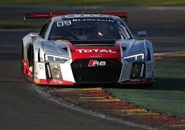 Audi R8 Lms - spa 24 hours pole position for the new audi r8 lms in the belgian