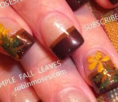 Easy Fall Nail Art Designs 15 Cute Easy Fall Nail Designs Nails In Pics