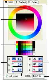 choosing colors by using the color picker corel paint shop pro guide