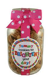 nams bits chocolate chip cookies glass 10oz jar