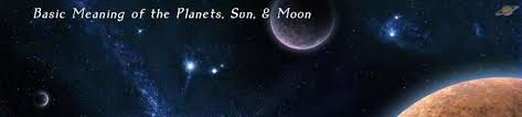 basic meaning of the planets sun and moon seattle astrology