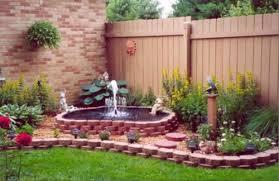 beautiful flower garden with fountain beautiful flower garden