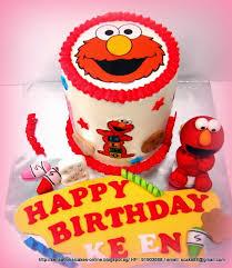the sensational cakes elmo rainbow cake singapore baby elmo