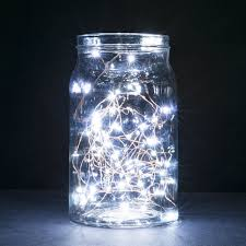 copper wire led string lights 2 set of micro 30 leds starry lights