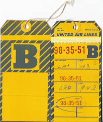 Luggage United Airlines 139 Best Old Airline Luggage Tags Images On Pinterest
