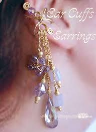 ear cuffs for pierced ears how to make earrings my wired imagination
