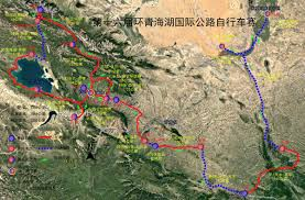 Route 40 Map by Tour Of Qinghai Lake On Twitter