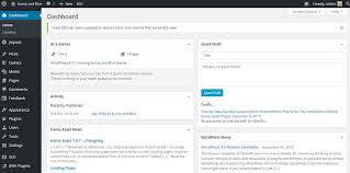 webcomic step by step tutorial for wordpress website