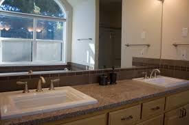 overmount sink on granite m h bathroom 2010 alex freddi construction llc