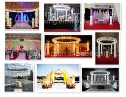 wedding mandap for sale royal indian design lighting mandap pillars for wedding stage
