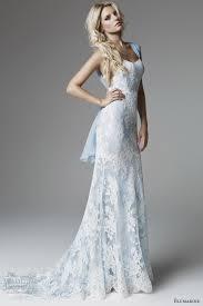 blue wedding dresses light blue lace wedding dress dresses trend