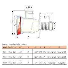 attwood livewell aerator pumps tsunami t500 model 4640 1