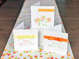 mother s day card designs make a ribbon embellished mother u0027s day card hgtv