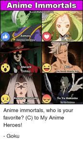 Cc Memes - anime immortals fbcommyheroesanime zamasu cc dragon bald code geass