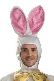 party city halloween bunny costume amazon com white easter bunny costume with mascot head and