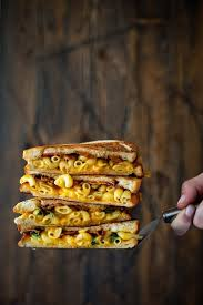 grilled mac and cheese with bacon recipe relish