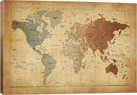 World Map Art Print by East Urban Home U0027map Of The World Iii U0027 Graphic Art Print U0026 Reviews