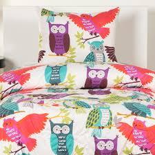 Owl Queen Comforter Set Owl Bedding Owl Always Love You Bed Cap Comforter Set