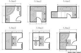 superficie minimum chambre plans maison en photos 2018 les salles de bains de taille moyenne