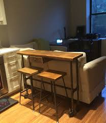 counter height bar table furniture wood counter height bar stools with tall wood table and