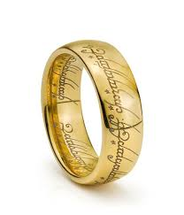 lord of the rings wedding band lord of the rings engagement ring