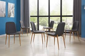 6 kitchen dining chairs you ll love wayfair juston skin upholstered dining chair set of 6