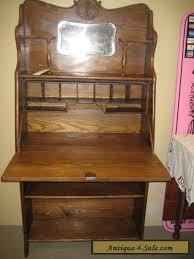 antique drop front desk antique ladies oak drop front desk larkin style ec for sale in