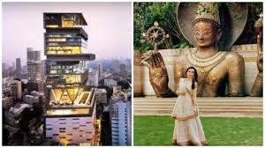 picture story how does the house of ambani look from the inside