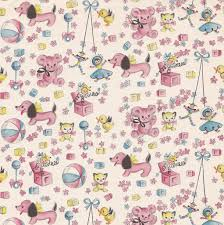 vintage wrapping paper vintage gift wrap baby hallmark vintage gifts vintage wrapping