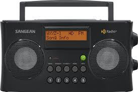 amazon com sangean hdr 16 hd radio fm stereo am portable radio
