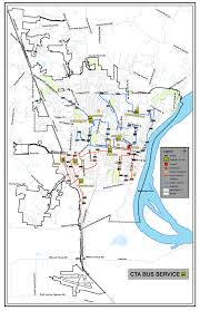 Cta Blue Line Map Cape Girardeau County Transit Authority Cta Offers A Variety Of