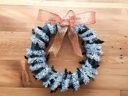 halloween wreaths diy easy diy halloween wreath this fairy tale life