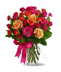 flowers international bouquet of roses mixed with warm tones delivery flowers