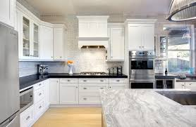 Grey Kitchen Cabinets With White Appliances Kitchen Traditional Kitchen With White Cabinets Modern White